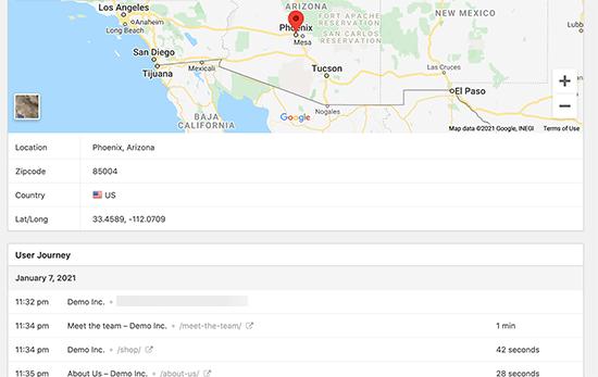 ردیابی موقعیت مکانی برای ارسال فرم در وردپرس