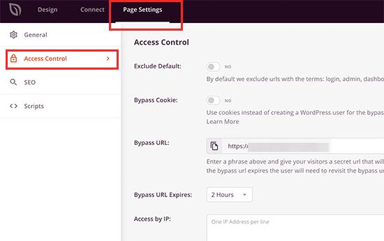 کنترل کنید چه کسی می تواند به وب سایت شما دسترسی پیدا کند