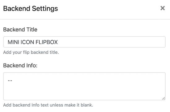 متن Flipbox را تغییر دهید