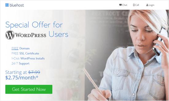 پیشنهاد ویژه Bluehost برای خوانندگان Nex1host