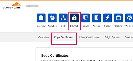 تنظیم سرصفحه های امنیتی HTTPS در Cloudflare
