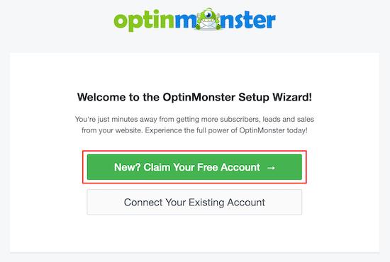 جادوگر راه اندازی OptinMonster