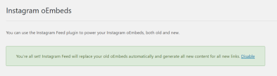 فید اینستاگرام جایگزین oEmbeds خواهد شد