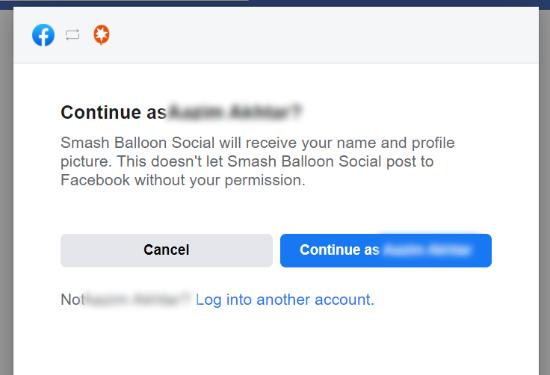 پروفایل فیس بوک را با Smash Balloon پیوند دهید